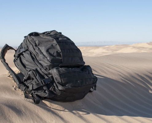 Backpack Buckles and Components-Backpack in Sand