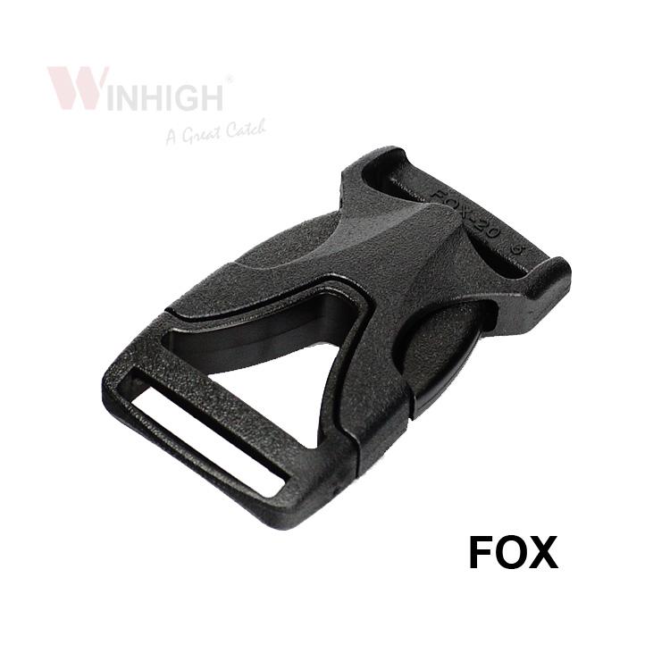 FOX Side-Release Plastic Buckle