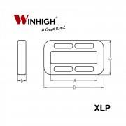 XLP: Plastic Looplock (Dimensions)