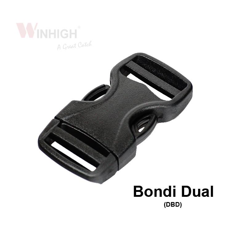 Bondi Dual Plastic Side-Release Buckle (DBD)