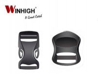 Plastic Buckles and Components with a Carbon Fiber look