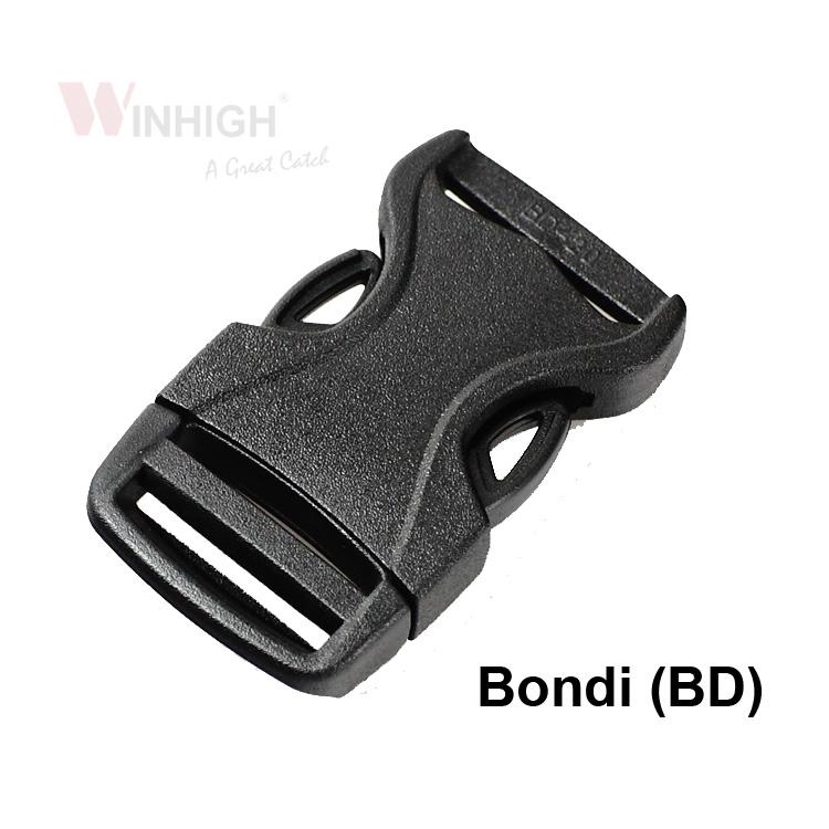 BD Plastic Side-Release Bondi Buckle