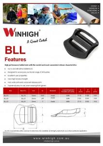 BLL Bondi Plastic Ladderlock Spec Sheet