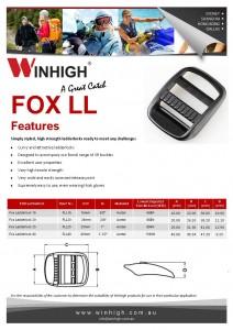 FLL Plastic Ladderlock Spec Sheet