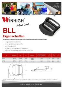 BLL Bondi Plastik Ladderlock Spec Sheet