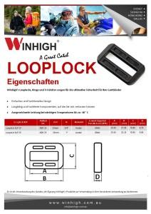 XLP Plastik Looplock Spec Sheet
